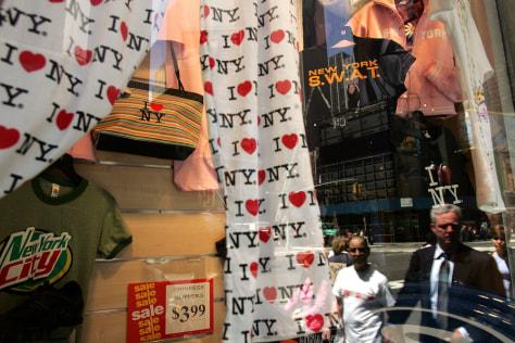 Image: New York souvenir store.