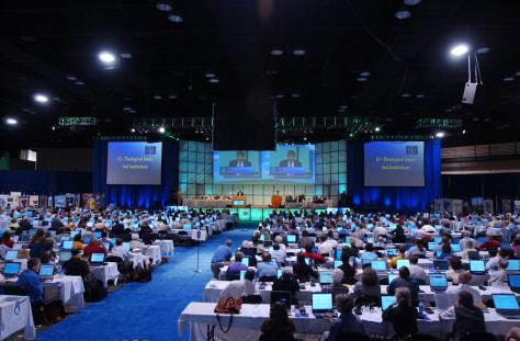 Image: Presbyterian Church delegates