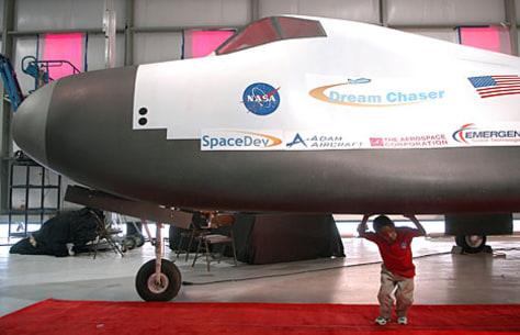 Image: SpaceDev unveiling