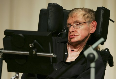 Image: Hawking in China