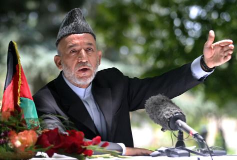 Image: Afghan President Karzai