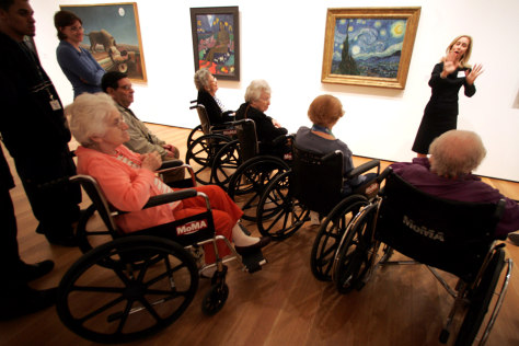 Image: Art and Alzheimer's