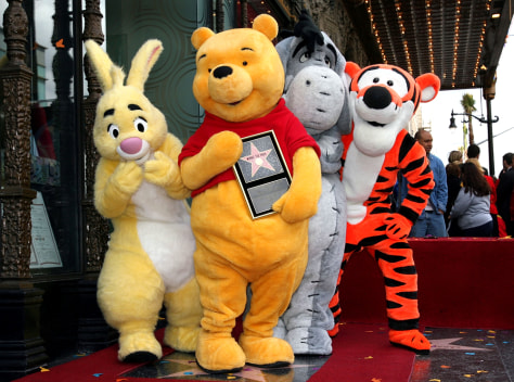 Image: Winnie The Pooh's gang