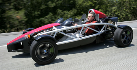 IMAGE: ELECTRIC RACE CAR