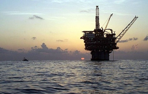IMAGE: oil platform, Gulf of Mexico