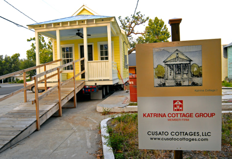 Katrina cottages offer a 39 feel of home 39 business us for Katrina homes