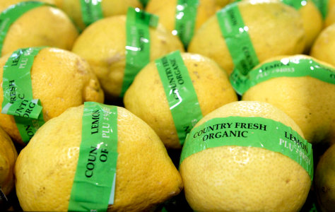 Image: Organic lemons