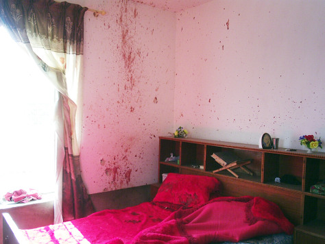 IMAGE: ROOM WHERE SOME HADITHA CIVILIANS ALLEGEDLY DIED