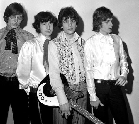 Image: Roger Waters, Nick Mason, Syd Barrett, Rick Wright