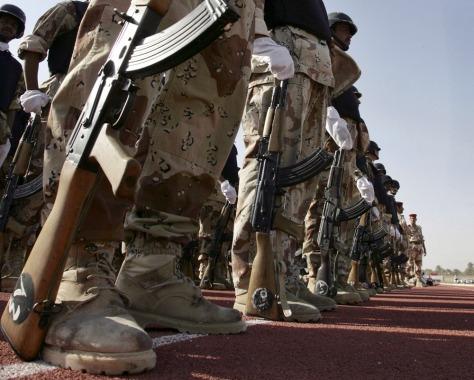 Image: Iraq handover