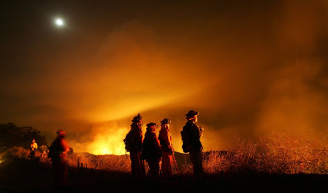 Image: California wildfires rage