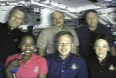 Image: Discovery crew