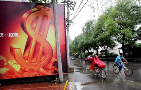 Image: China economy