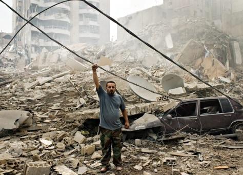 Image: Lebanon hit by Israeli reprisal attacks
