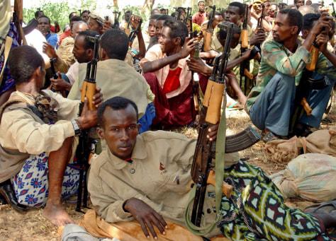 Image: Somalia militia