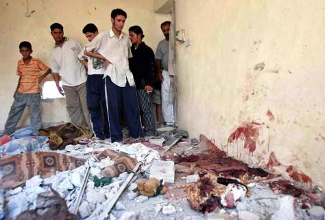 Image: Baqouba violence