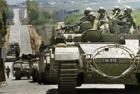 Image: Israeli armor