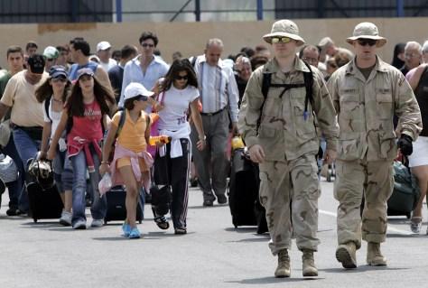 Image: American evacuations