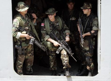 Image: Turkish Navy commandos