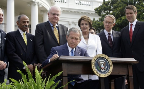 Bush Signs Reauthorization Of Voting Rights Act