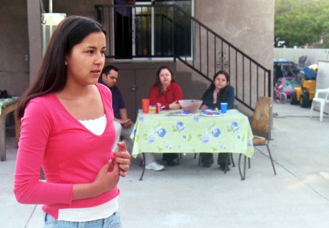 �quinceanera� is a little film with a lot of heart today