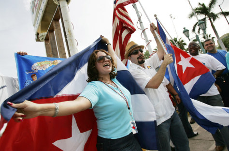 Image: Cubans in Little Havana