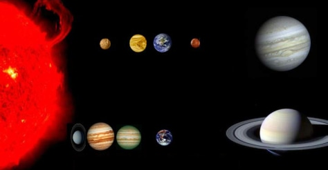 Image: Planetary system graphic