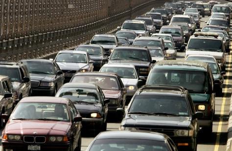 Image: Traffic jam