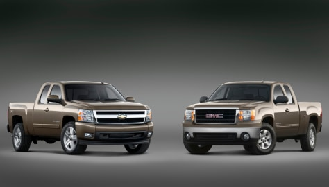 Redesigned GM pickups