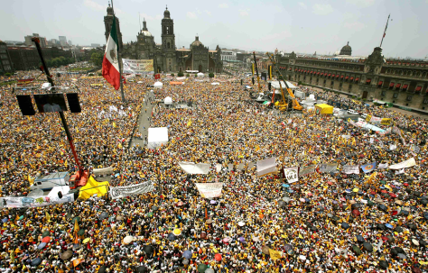 Image: Rally in Mexico City