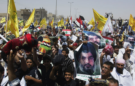 Image: Pro-Hezbollah rally