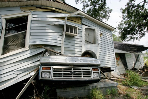Image: Destroyed New Orleans home