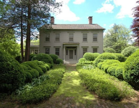 Image: Martha Stewart's Westport home