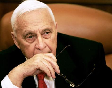 Image: Former Israeli Prime Minister Ariel Sharon