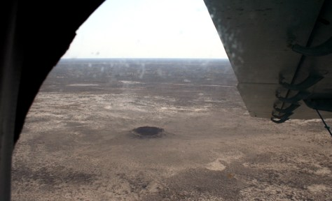 Image: Dnepr crater