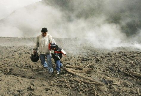 Image: Ecuadorian volcano
