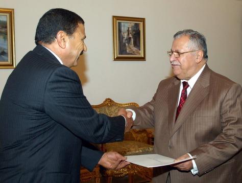 Image: Jordanian envoy Ahmed al-Lozi