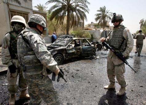 IMAGE: U.S. soldiers in Baghdad