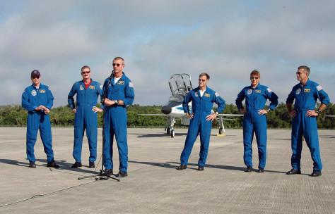 Image: Shuttle crew