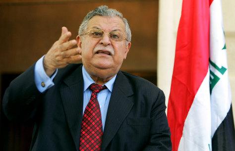 Image: Iraqi President Talabani
