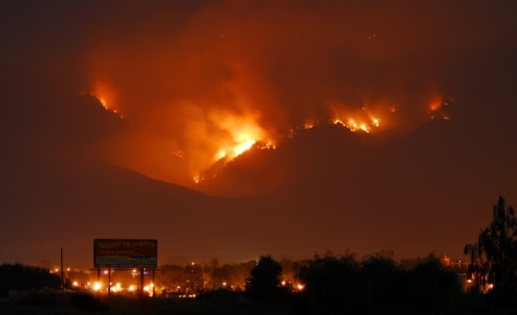 IMAGE: FIRE IN MONTANA