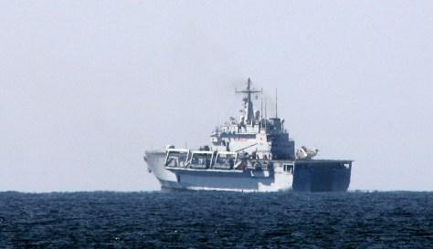 IMAGE: Italian patrol off Lebanon