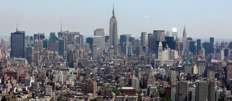 Image: New York City skyline.