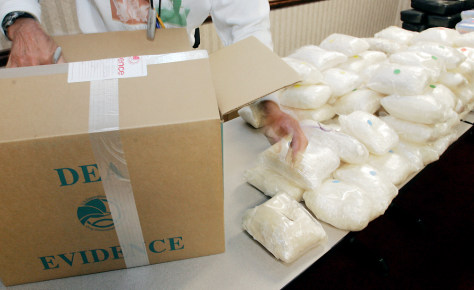 IMAGE: HUGE SEIZURE OF CHRYSTAL METH