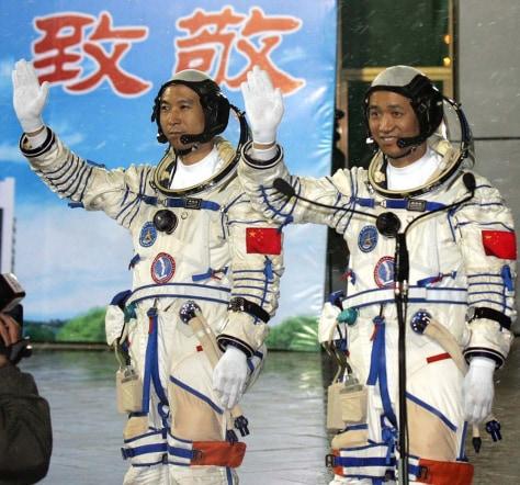 Image: Fei Junlong and Nie Haisheng