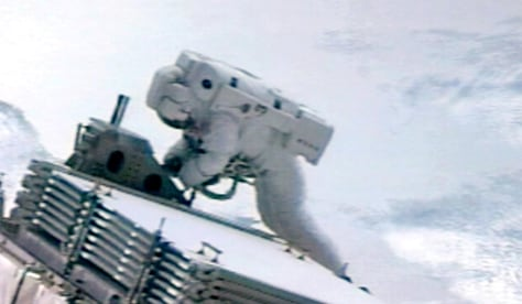 Image: Spacewalk work
