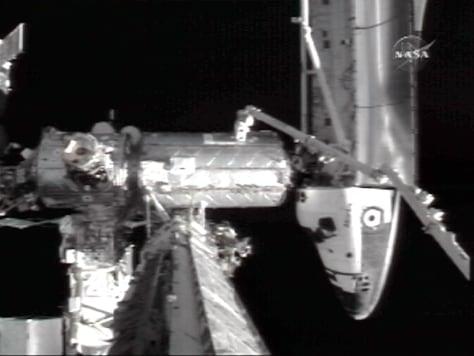 Image: Atlantis docked