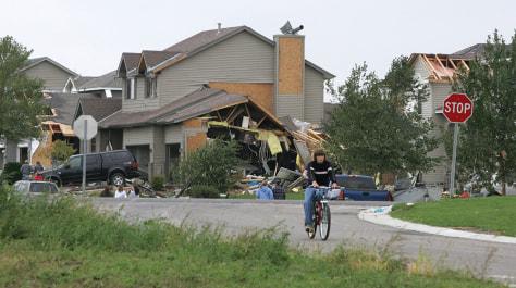Girl Dies In Minnesota Tornado Weather Nbc News