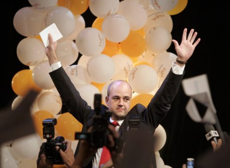 Image: Fredrik Reinfeldt