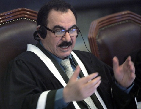 Chief judge Abdullah al-Amiri